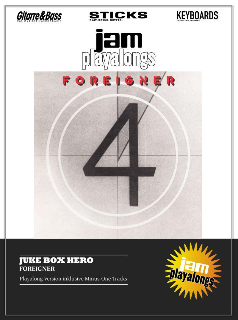 Produkt: Juke Box Hero – Foreigner
