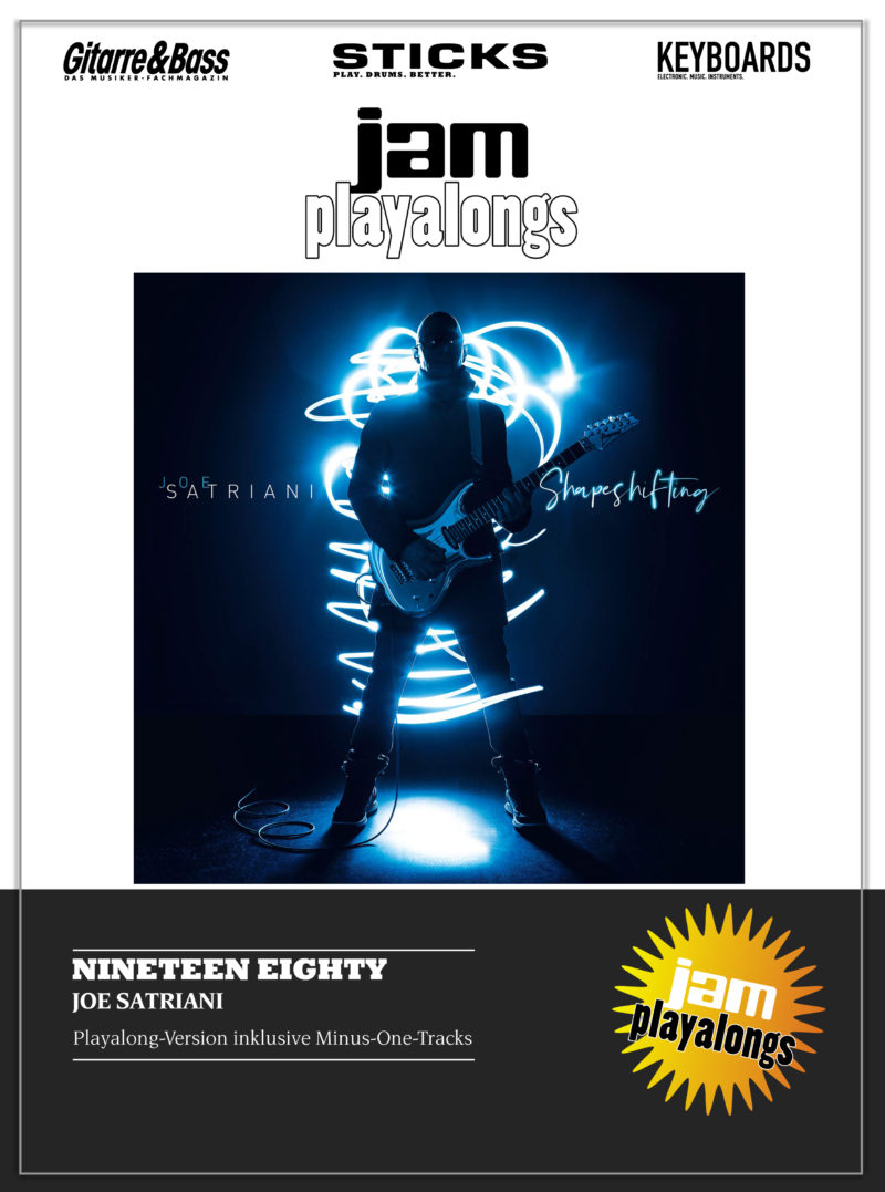 Produkt: Nineteen Eighty – Joe Satriani